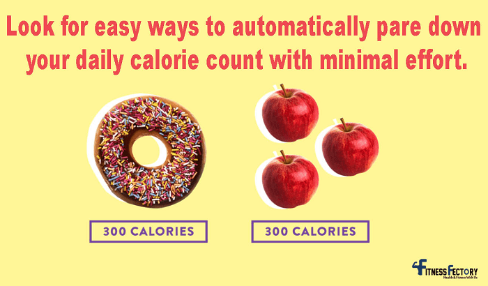 Cut calories safely