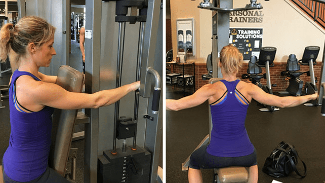 Rear Delts exercise