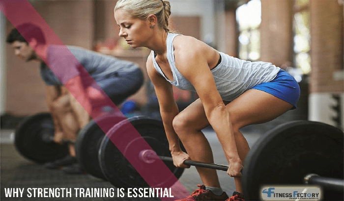 Strength Training is essential