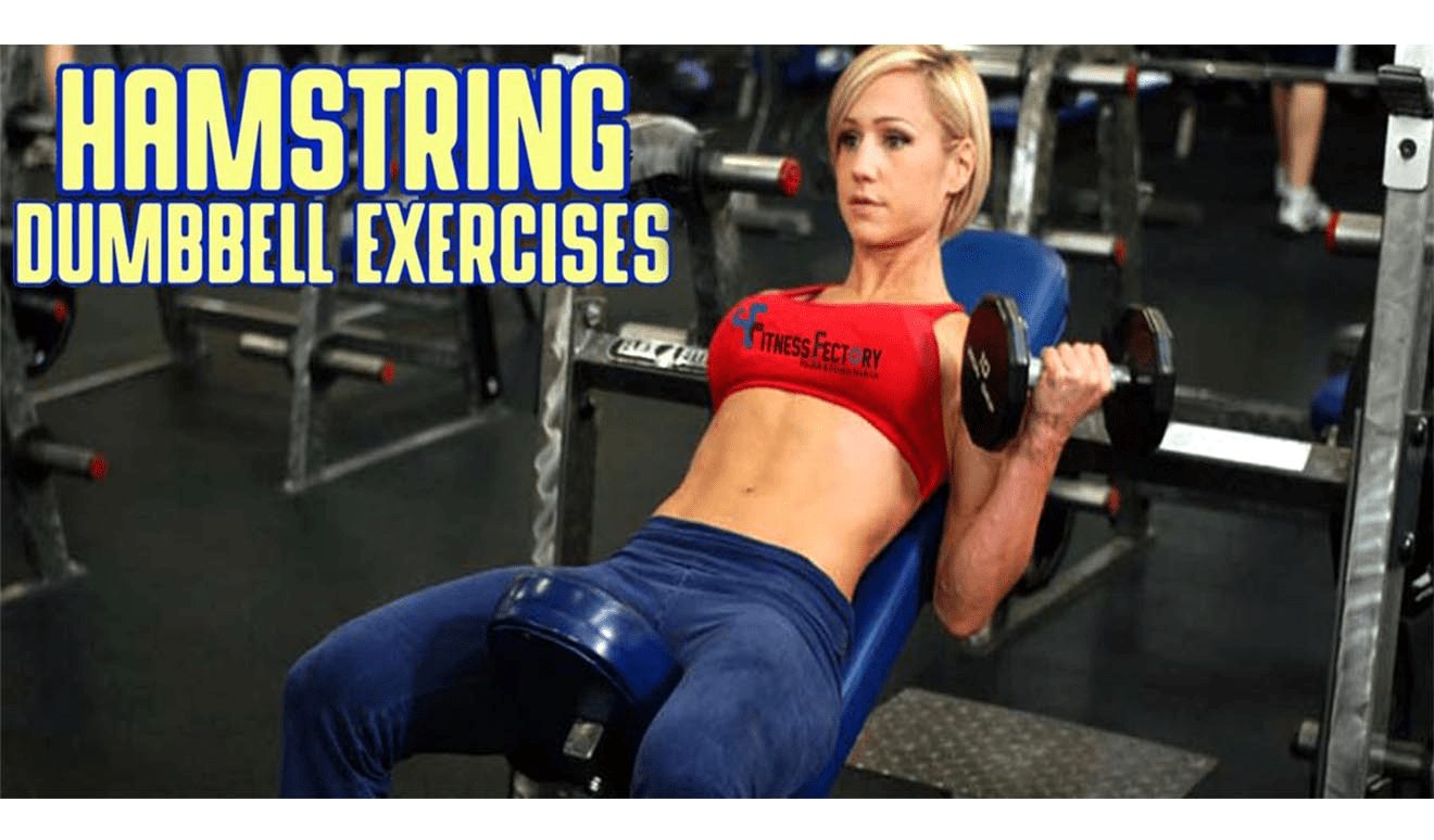 hamstring dumbbell exercise
