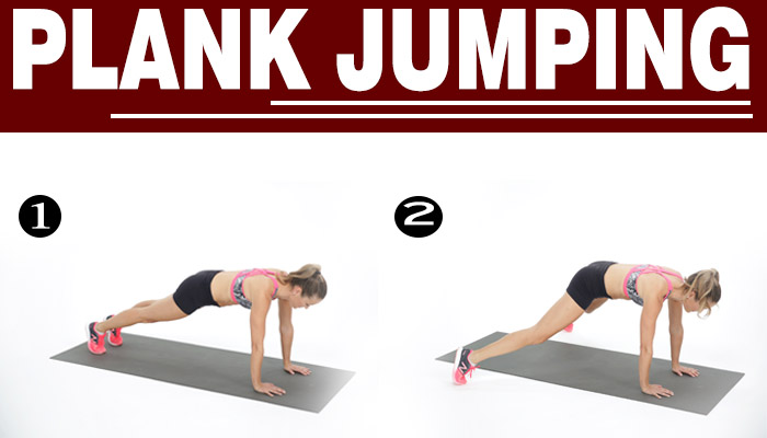 PLANK JUMPING