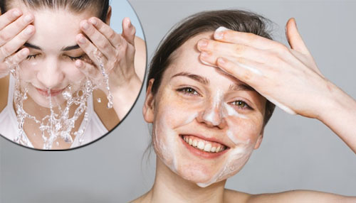 Cleaning – Washing your Skin or Face