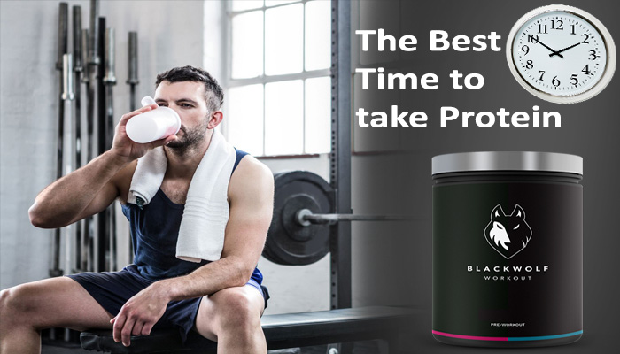 The best time to take protein