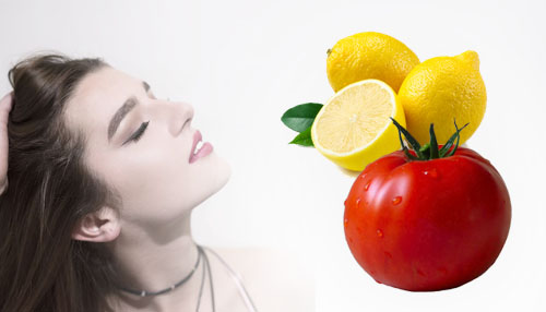 Lemon Juice with Tomato Pulp