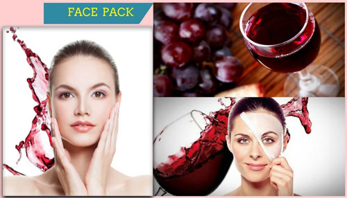 Red Wine Face Pack