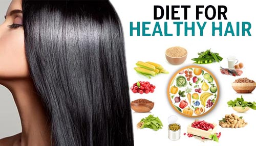 What kind of food we eat for healthy and beautiful hair?
