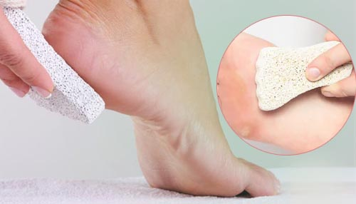 Exfoliation is important for your feet