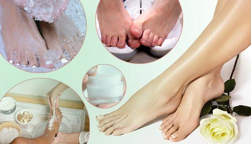Home-based foot care remedies for summer