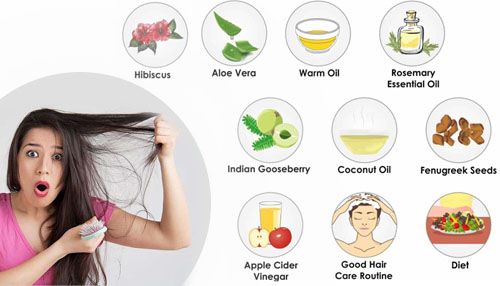 How to stop hair fall with natural home remedies