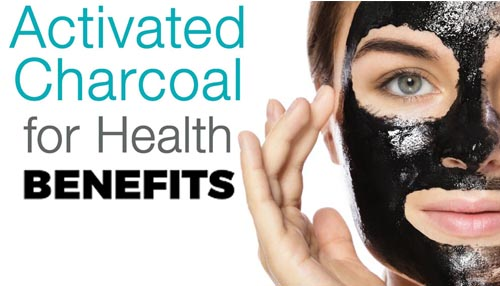 A few health benefits of Activated charcoal