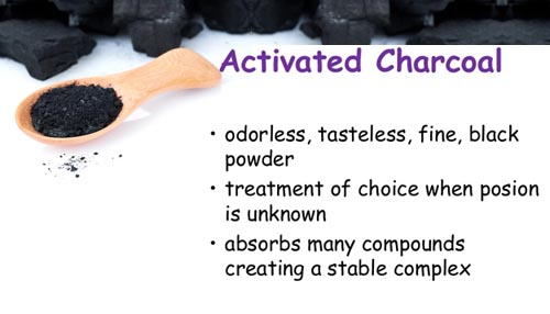 A few precautionary measures for activated charcoal