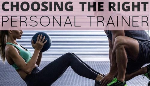 Choosing the right personal trainer