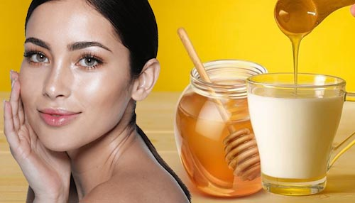 Curd, Honey, and Lemon Juice (A useful face pack for oily skin)