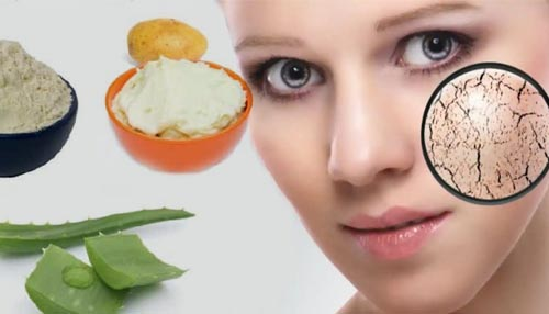 Potato, Aloe Vera, and Gram Flour Face Pack (A useful face pack for dry skin)