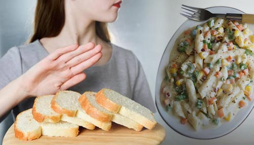 Avoid white foods such as white pasta, white bread, and white rice