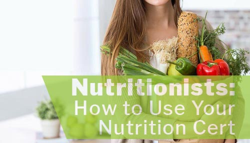 Become your nutritionist