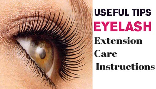 Eyelashes Extension Care Tips