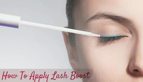 How to Apply Lash Boost