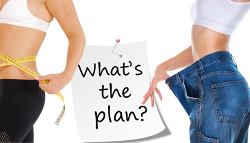 Make a plan which will easily incorporate in your day to day life